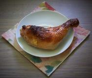 Gamba del ` s del pollo Fotografia Stock Libera da Diritti