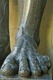 Gamba della scultura del granito Fotografie Stock