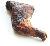 Gamba di pollo di scatto fotografia stock libera da diritti