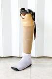 Gamba prostetica Immagini Stock Libere da Diritti