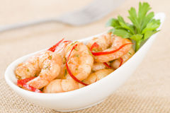 Gambas Pil Pil Stock Photography