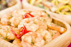 Gambas Pil Pil Stock Photos