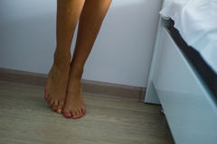 Gambe calde della ragazza