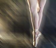 Gambe del ballerino Fotografia Stock