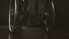 Gambe del disabile immagine stock libera da diritti