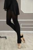 Gambe della ballerina Fotografia Stock Libera da Diritti