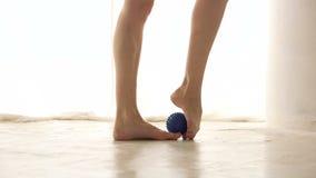 Gambe della ballerina Piede caldo stock footage