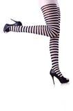 Gambe della donna Fotografie Stock