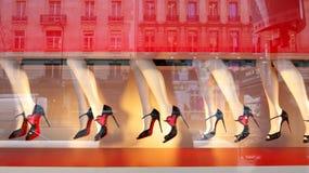 Gambe e scarpe Fotografia Stock