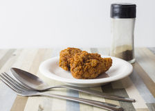 Gambe piccanti Fried Chicken Fotografia Stock