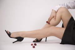 Gambe sensuali Immagini Stock Libere da Diritti