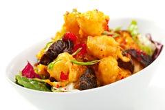 Gamberetti della tempura Immagine Stock Libera da Diritti