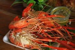 Gamberetto arrostito Fotografia Stock Libera da Diritti