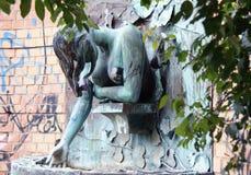 gamberini lunetta statua Zdjęcia Stock
