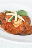 Gambero rosso del curry fotografie stock