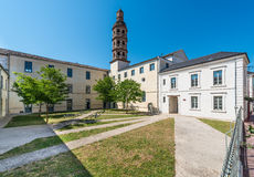 Gambetta School in Cahors, France. Royalty Free Stock Images