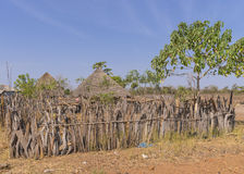 Gambian village Stock Photos