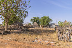 Gambian village Stock Photography