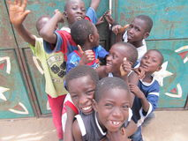 Gambijska radość Zdjęcia Royalty Free