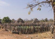 Gambijska wioska Fotografia Stock