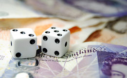 Gamble! royalty free stock images