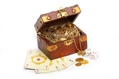 Gamble royalty free stock image