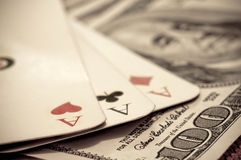 Gamble Royalty Free Stock Photography