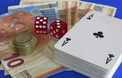 gamble στοκ εικόνες