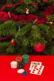 Gamble by Christmas Stock Image