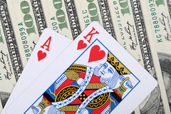 Gamble concept Royalty Free Stock Photo