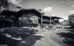Gamble House Royalty Free Stock Images