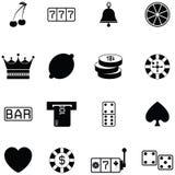 Gamble icon set. The gamble of icon set royalty free illustration