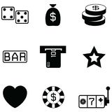 Gamble icon set vector illustration