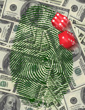Gamble Investment or Investigation. High Resolution Illustration Gamble Investment or Investigation Stock Image