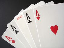 Gamble on Love Stock Photo