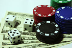 Gamble and Risk Royalty Free Stock Image