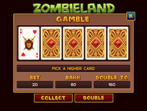 Gamble for slots game. Vector illustration vector illustration