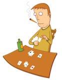 gambler Fotografia Stock