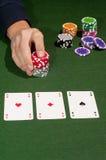 gambler imagem de stock