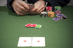 gambler imagens de stock