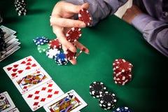 Gambler Stock Image