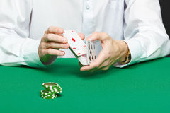Gambler Stock Photography