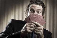 Gambler Man Royalty Free Stock Photography