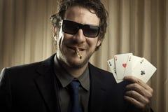 Gambler Man Royalty Free Stock Images