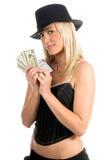 gambler sexy Στοκ φωτογραφίες με δικαίωμα ελεύθερης χρήσης