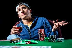Gambler Royalty Free Stock Photography