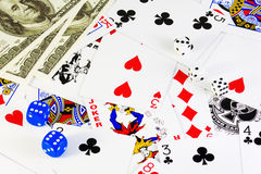 Gambling Royalty Free Stock Photos