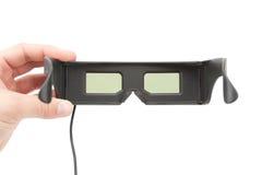 Gambling 3D glasses Stock Photos