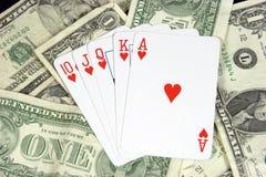 Gambling. Poker Gambling stock images