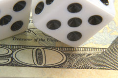 Gambling on it Royalty Free Stock Photography